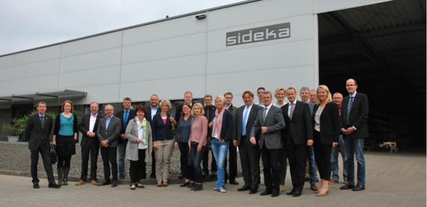 Treffen der Wirtschaftsförderer bei SIDEKA